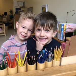 Primary Students in the Classroom