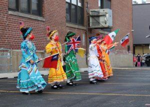 Kindergarten Graduation multicultural performane